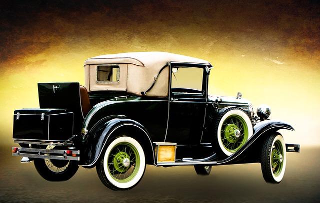 historický vůz