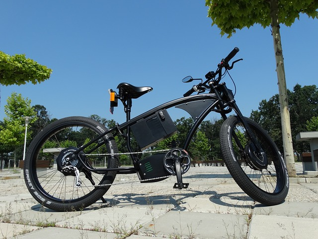 luxusní elektro kolo