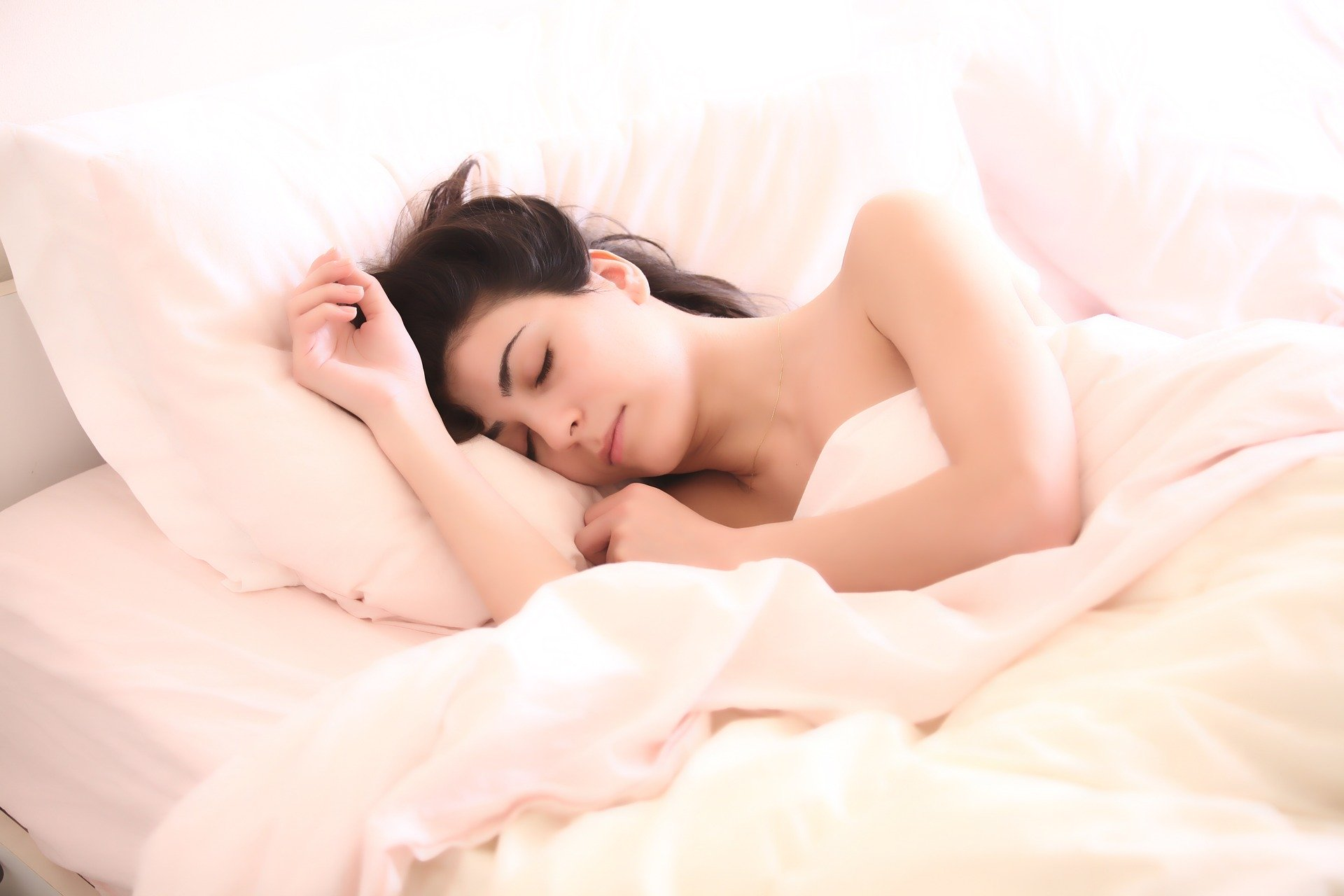 spící dívka